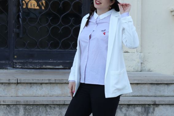 chemise a carreaux mademoiselle e