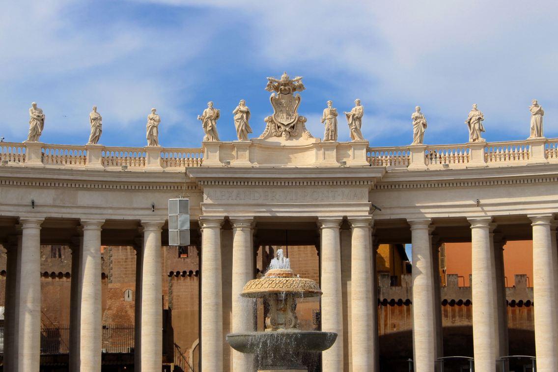 Rome city guide vatican 2 mademoiselle-e