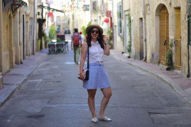 jupe rayée 17 mademoiselle-e