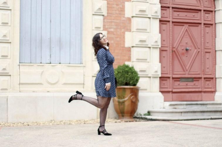 Robe col claudine 6 mademoiselle e