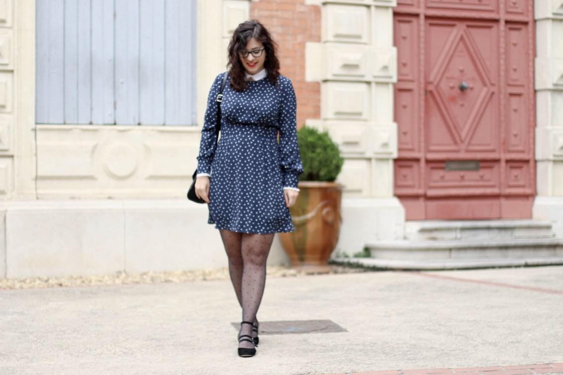 Robe col claudine 1 mademoiselle e
