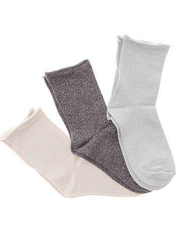 lot-3-paire-de-chaussettes-avec-fibre-metallique-noir