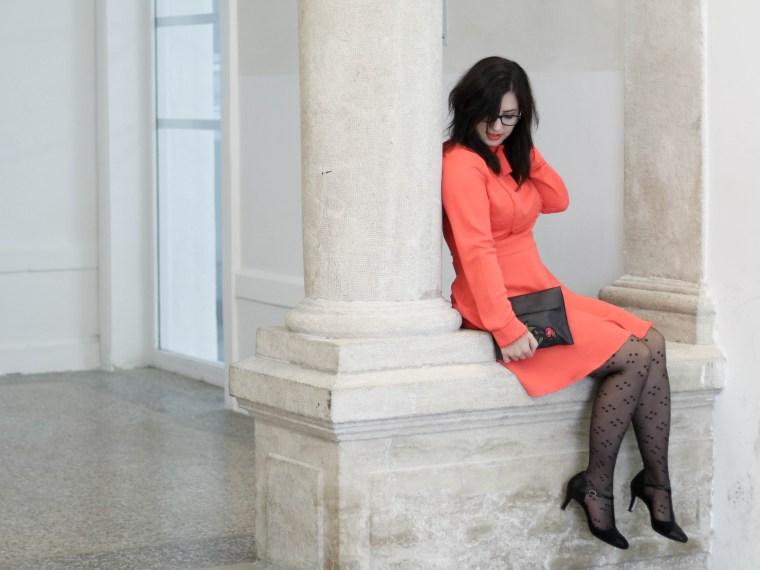 robe orange mademoiselle R 1 mademoiselle e