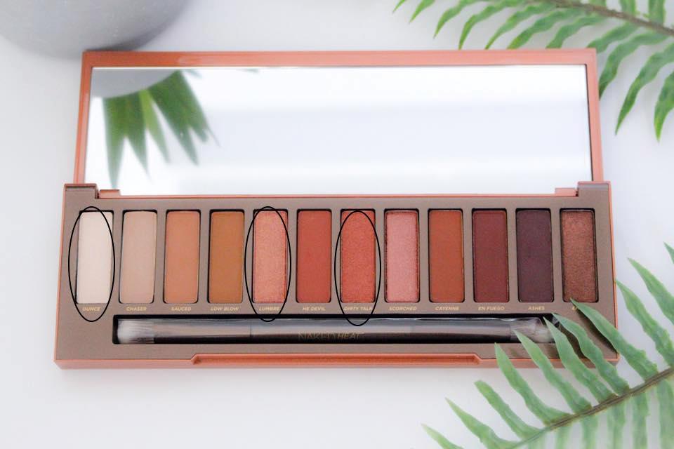Naked Heat palette 3 mademoiselle-e
