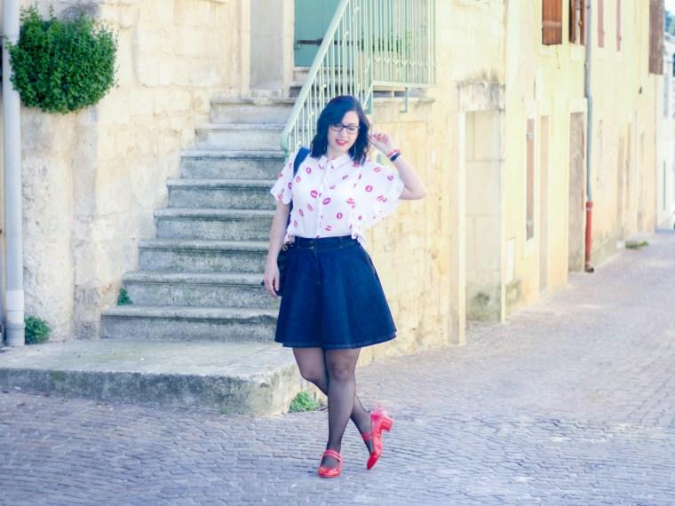 imprimé bisous chemise forever 21 3 mademoiselle-e