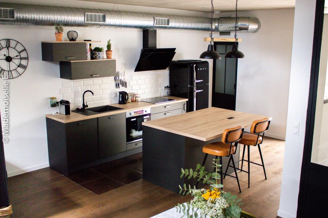 Décoration-loft-inspiration-cuisine-insdustrielle-1-mademoiselle-e