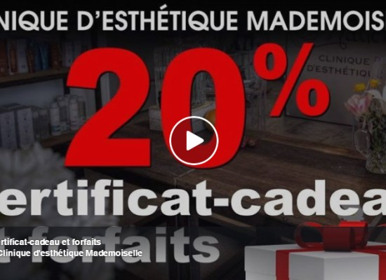 Suggestions cadeaux Mademoiselle