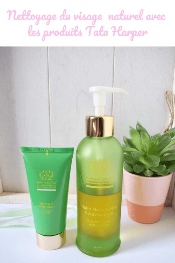 Nettoyage du visage au naturel Tata Harper