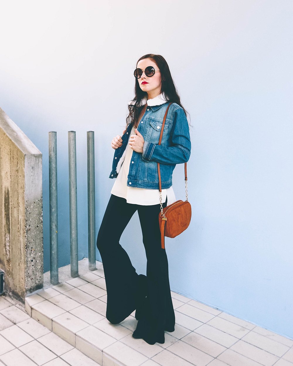 look veste denim riverisland