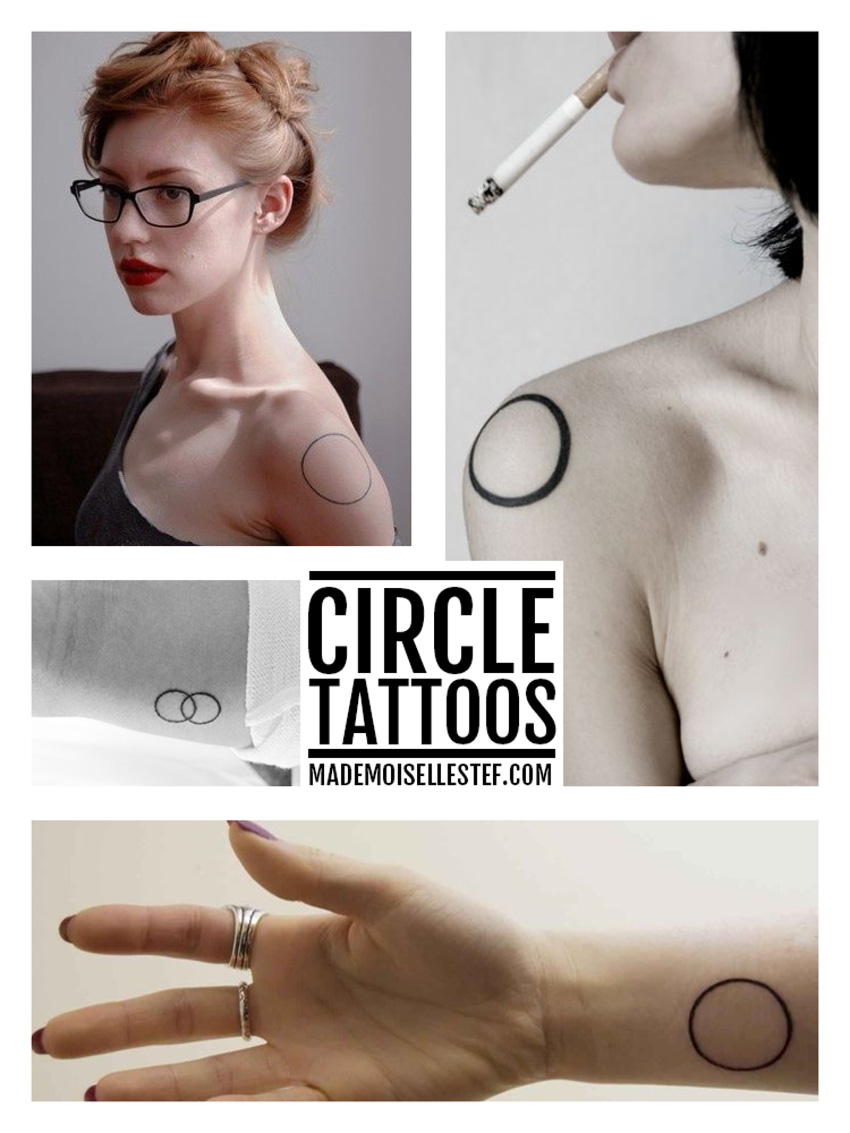 tattoo idea circle