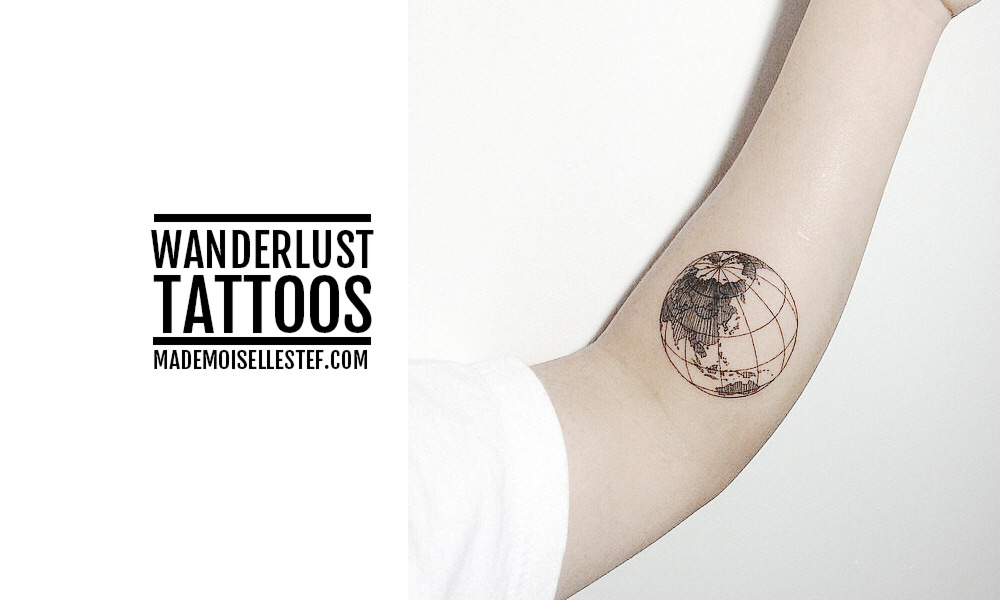 tattoo idea wanderlust