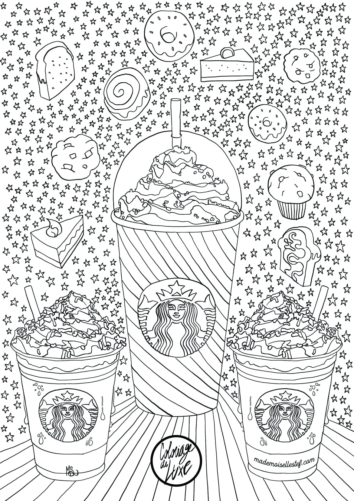 coloriage starbucks