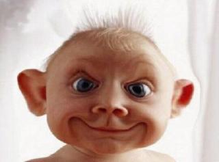 bébé moche