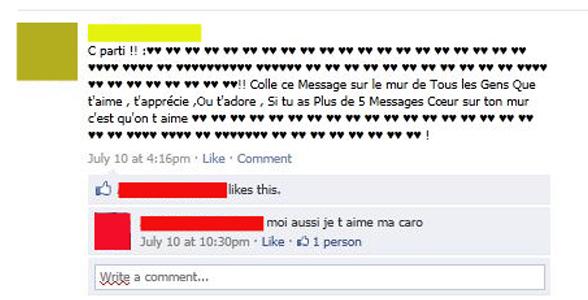 Comment pourrir le mur de vos amis Facebook