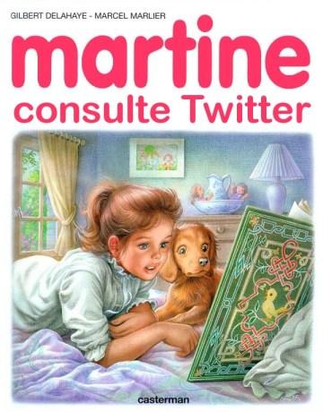 martine twitter