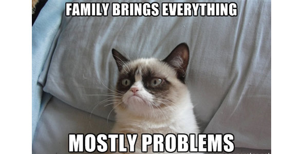 Du bonheur de réunir sa famille ou pas