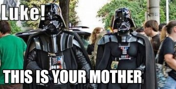 dark vador mother