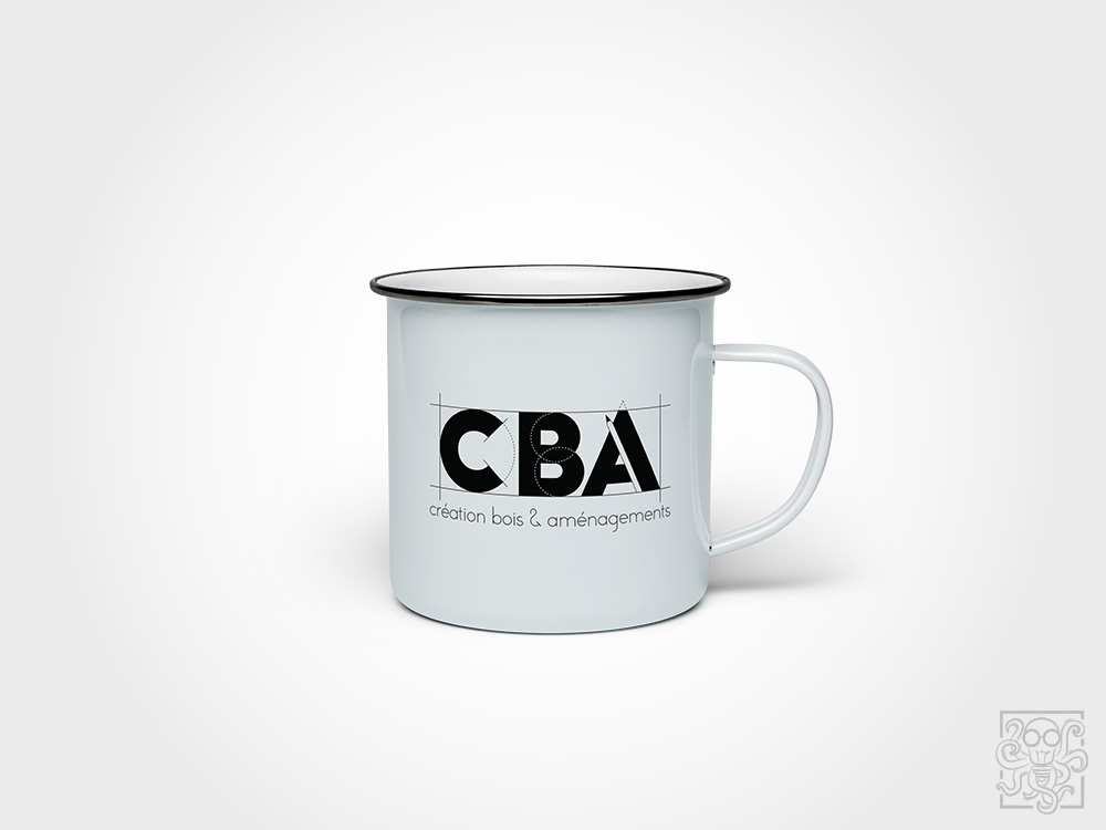 creation logo CBA mug
