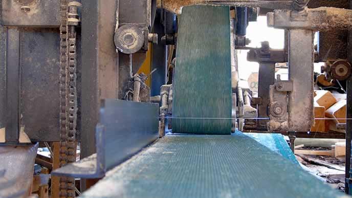 cortadora de madera Maderas San Juan