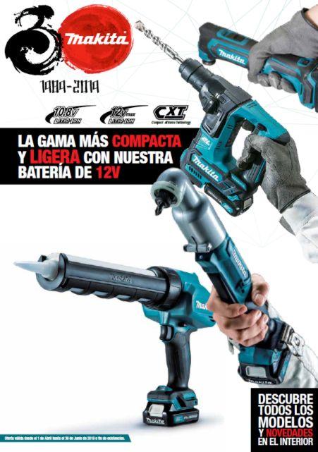 Ofertas Makita Primavera 2019 Batería 10,8V y 12V