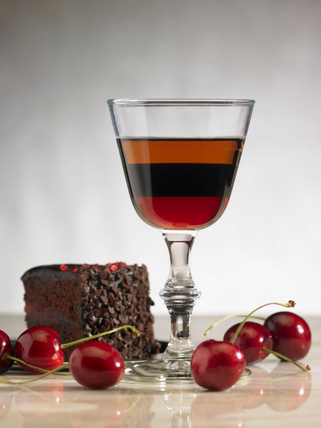 Chocolate Cherry Cold Brew Coffee