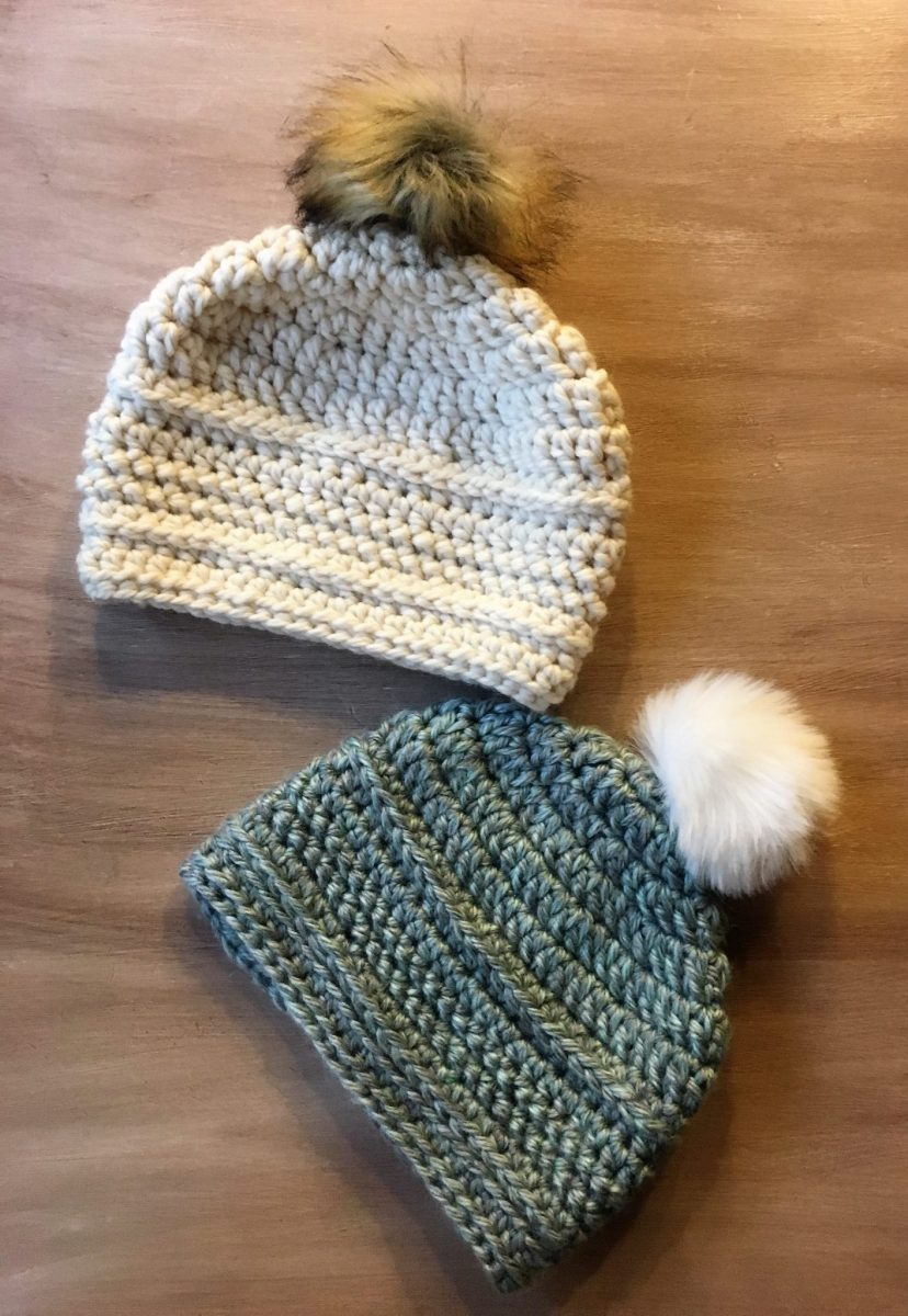How to Crochet a Beanie Hat; Free Pattern