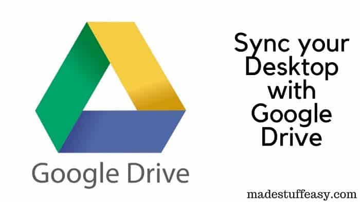 Sincronizar equipo con Google Drive