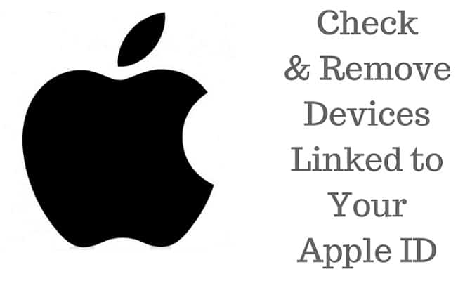 manage apple account devices