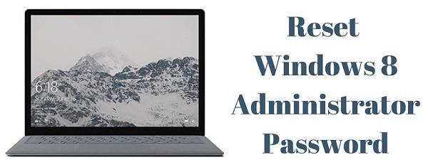 reset windows 8 administrator password with cmd