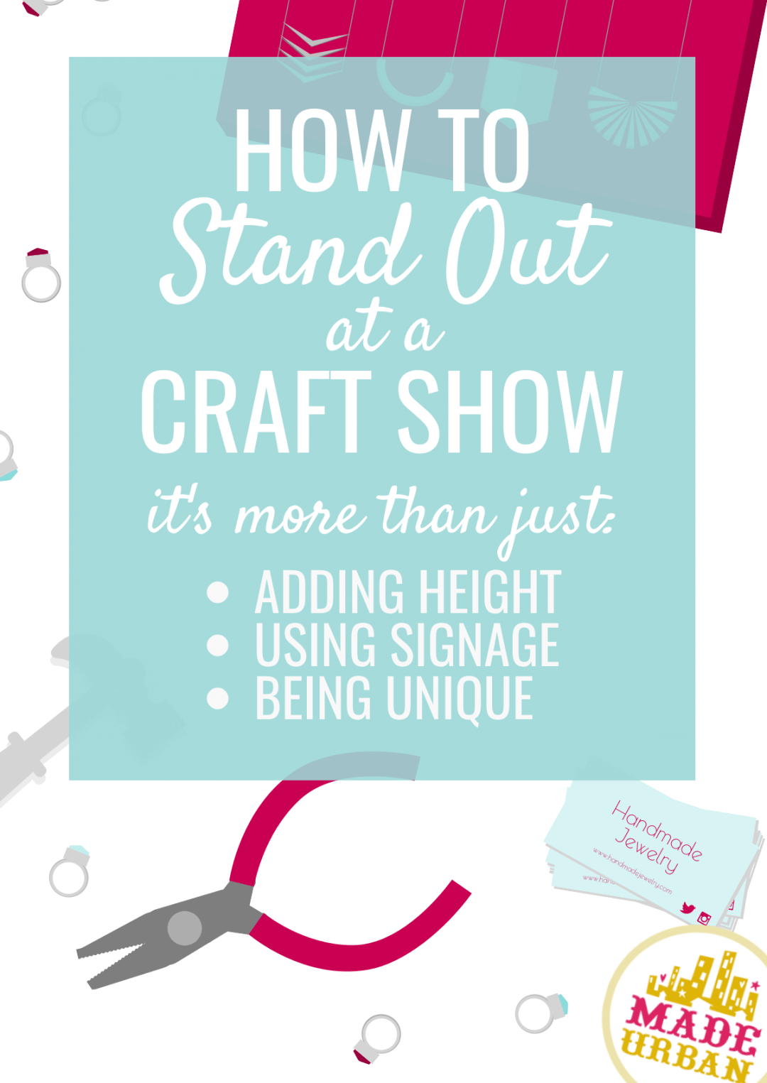 Want to Stand Out at a Craft Show? Try these Display Tricks