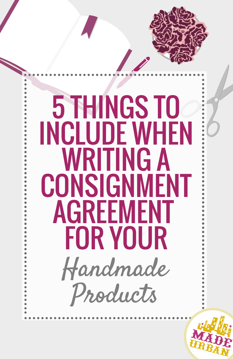 What to Include in a Consignment Agreement