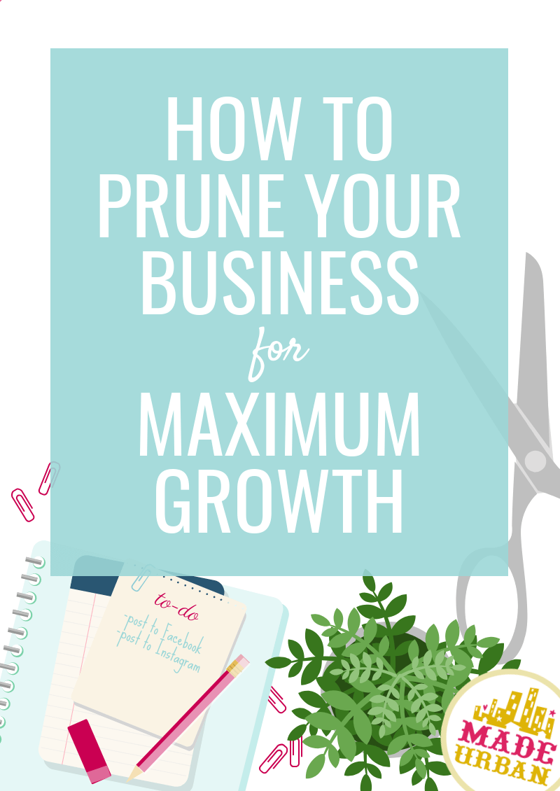 How to Prune your Business for Maximum Growth