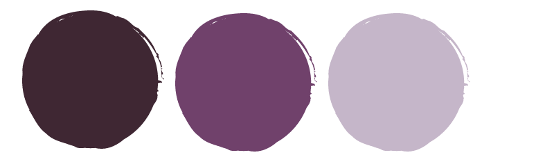 Purple color trends fall 2019