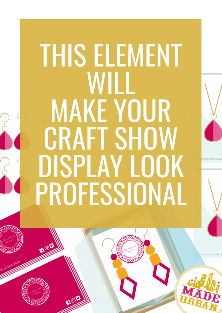 This Element will Make your Craft Show Display Look Professional
