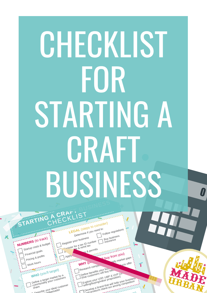 Checklist for Starting a Craft Business