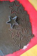 Sterne gehen immer, auch als Kekse.