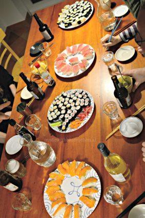 2016-12-31 Muenchen - Sushi - Schmaus 1