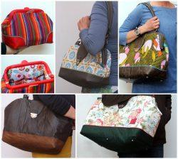 Carpet Bags: Kulturbeutel, ein Mal Handtasche, zwei Mal Bürotasche und ein Mal Reisetasche (Fotos: machwerk)