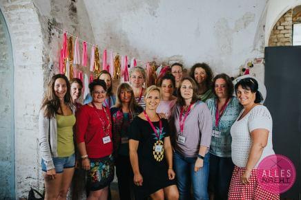 Die Frauen von Create in Austria. Foto: Bernadette Burnett