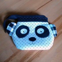 Panda Geldbörse von @maracreates.shop