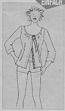 Die technische Zeichnung aus dem Brigitte Sonderheft 2000
