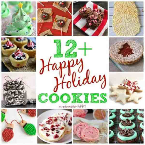 12+ Happy Holiday Cookies