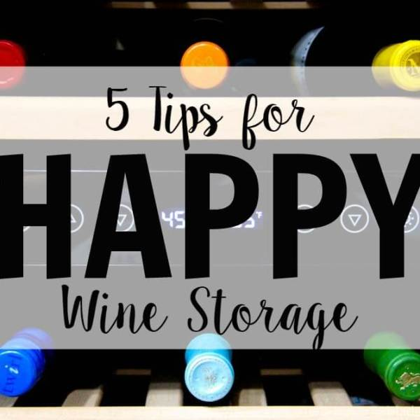 5 Tips for Storing Wine + Wine Cooler Giveaway