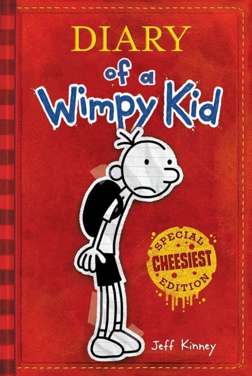 Diary of a Wimpy Kid. Top 10 Chapter Books for young readers. We're sharing our top picks for young readers that are looking for some great chapter books. www.madewithhappy.com
