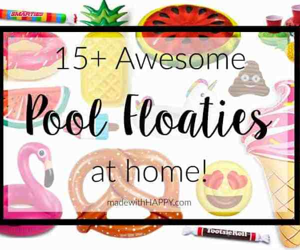 15+ Awesome Pool Floats for Home