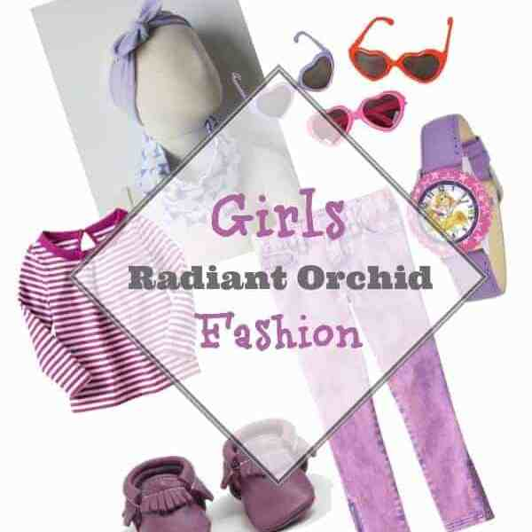 Friday Finds: Radiant Orchid Girls Fashion