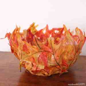 Leaf Bowl {DIY}