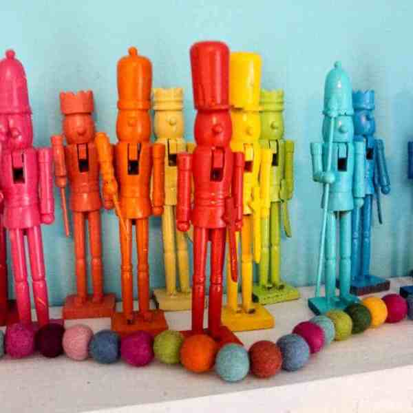 Rainbow Nutcrackers