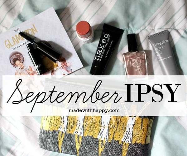 September IPSY Glam Bag