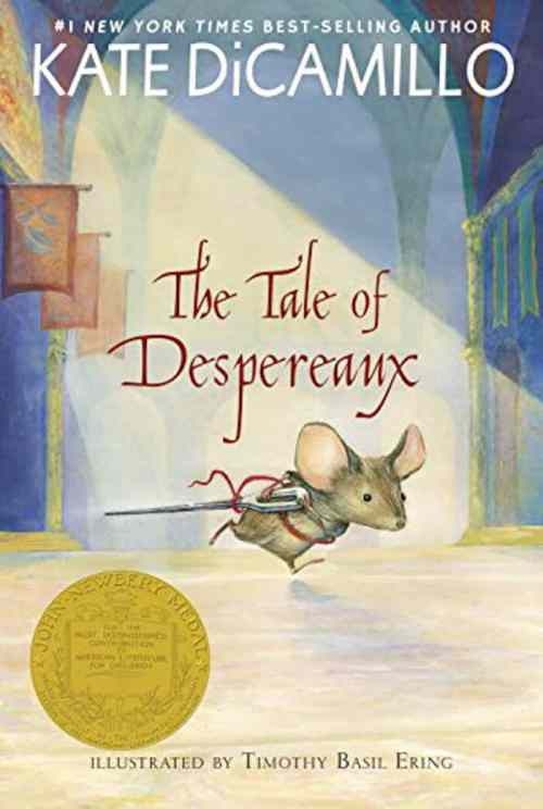 The Tale of Despereaux. Top 10 Chapter Books for young readers. We're sharing our top picks for young readers that are looking for some great chapter books. www.madewithhappy.com